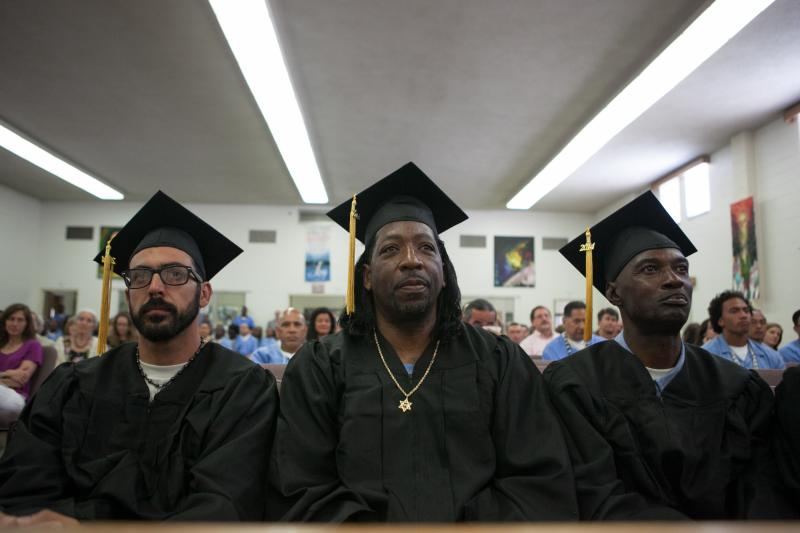 Graduates from Prison University Project